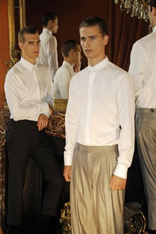 Dior Homme Spring Summer 2008 White Shirt