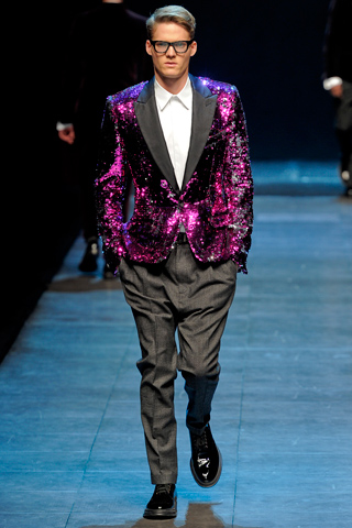 Dolce and Gabbana Fall Winter 2011 Menswear Runway Show