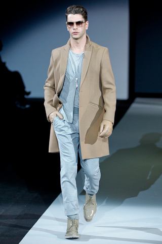 Emporio Armani Fall Winter 2011 Menswear