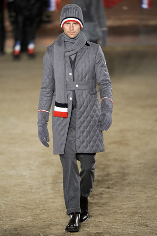 Moncler Gamme Bleu Fall Winter 2011 Menswear Look 8