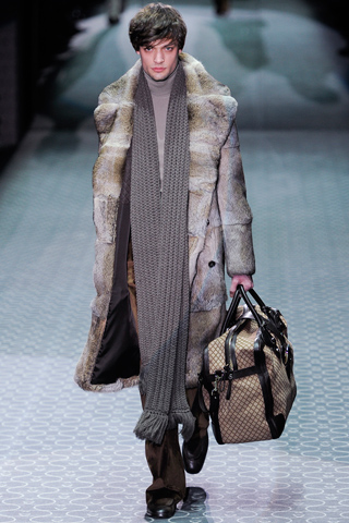 Gucci Fall Winter 2011 Menswear Show Look 7