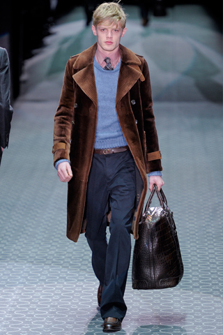 Gucci Fall Winter Menswear Show Look 13