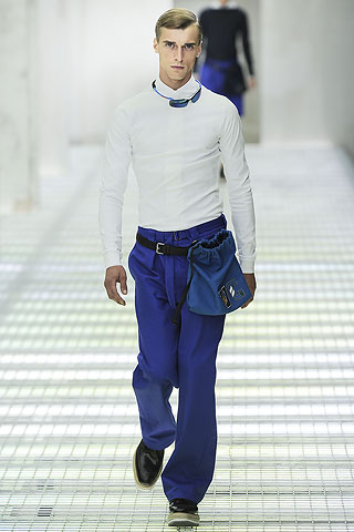 Prada Spring Summer 2011 White Shirt