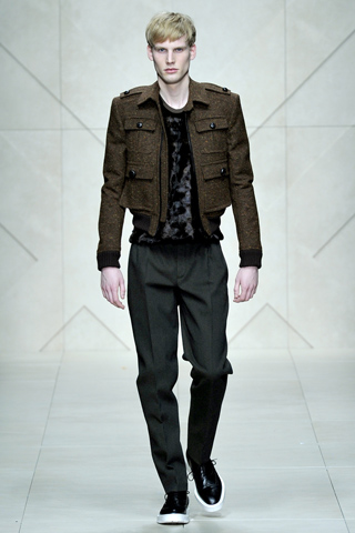 Burberry Prorsum Fall Winter 2011 Menswear Show