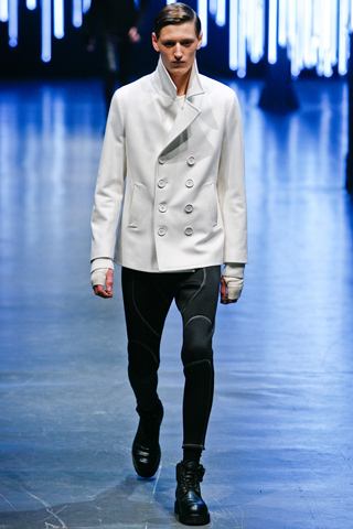 Neil Barrett Fall Winter 2011 Menswear Show Look 1
