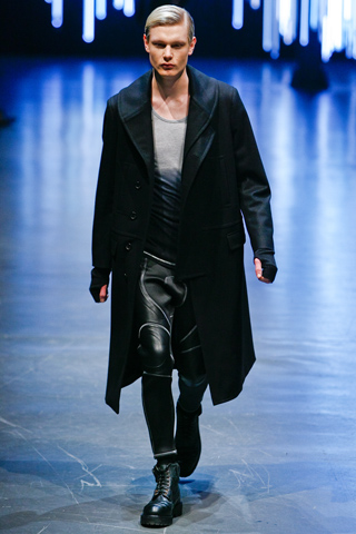 Neil Barrett Fall WInter 2011 Menswear Show Look 10