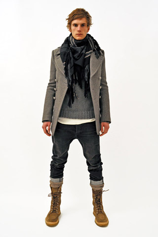 Balmain Fall Winter 2011 Menswear Show Look 5