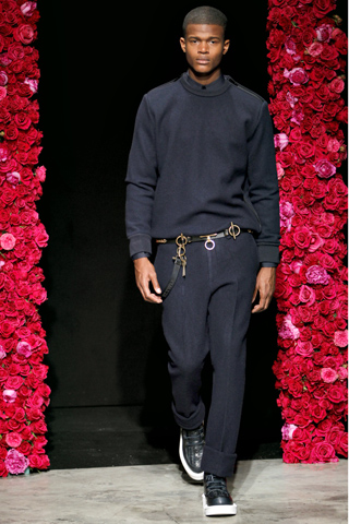 Givenchy Fall Winter 2011 Menswear Show Look 24