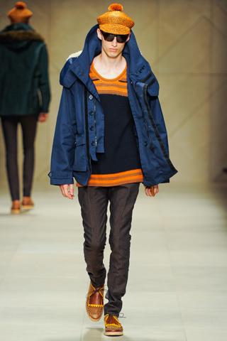 Burberry Prorsum Spring 2012 Menswear Show Look 13