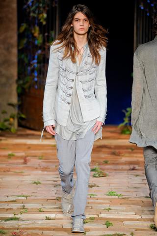 John Varvatos Spring 2012 Menswear Show Look 6