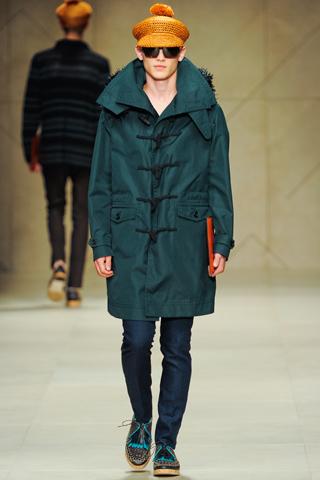 Burberry Prorsum Spring 2012 Menswear Show Look 14