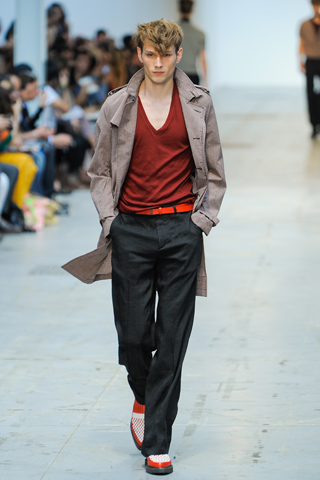 Costume National Spring 2012 Menswear Show Look 2