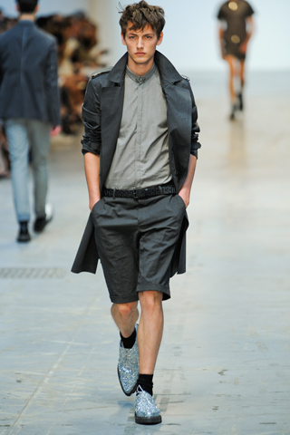 Costume National Spring 2012 Menswear Show Look 17