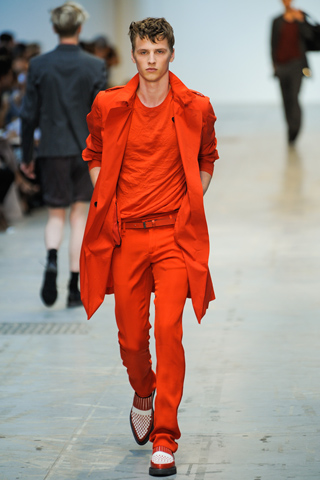 Costume National Spring 2012 Menswear Show Look 21
